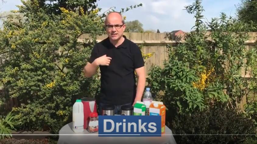 Watch the 'Learn how to order drinks using BSL' video on YouTube